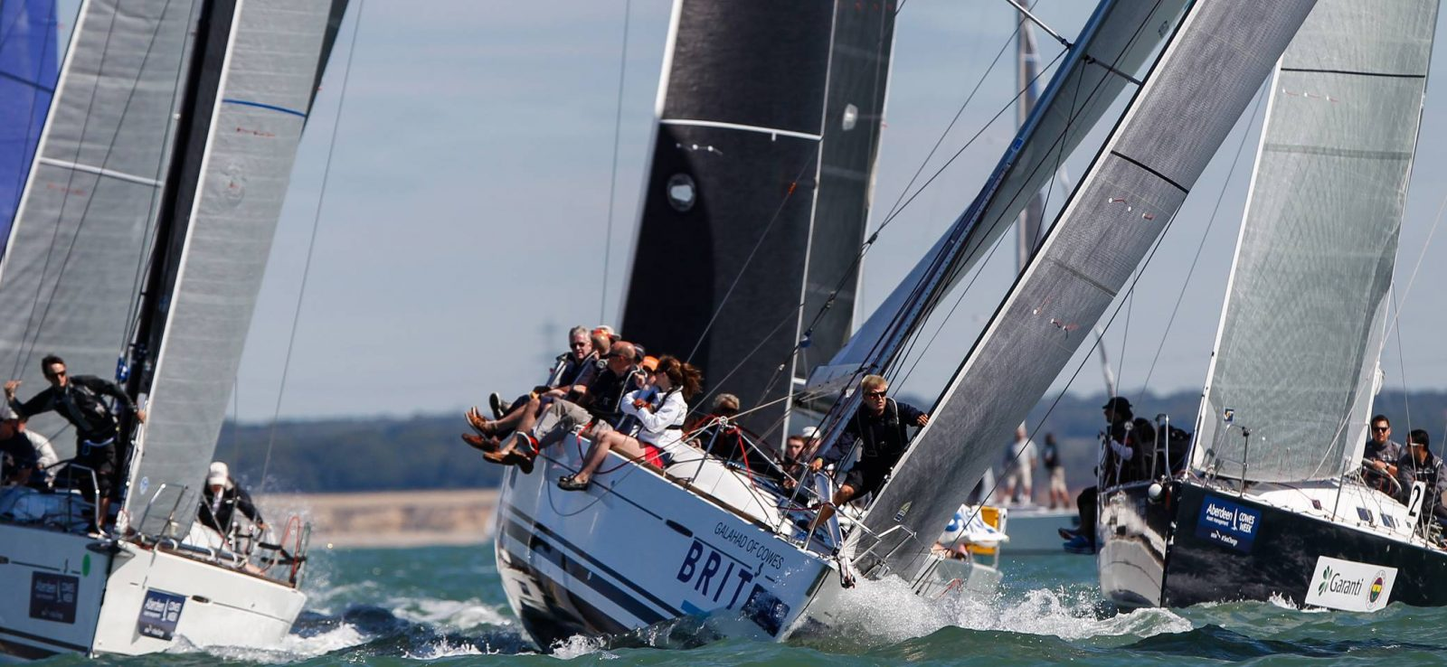 Corporate Sailing Events - Cowes Week Racing
