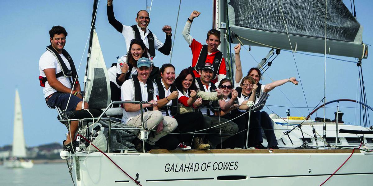 Team Building Sailing Days with Britannia Events
